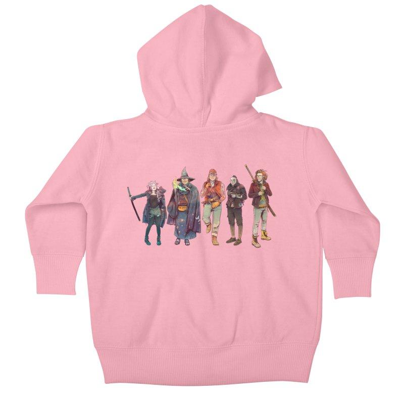 The NeoScum Kids Baby Zip-Up Hoody by NeoScum Shop