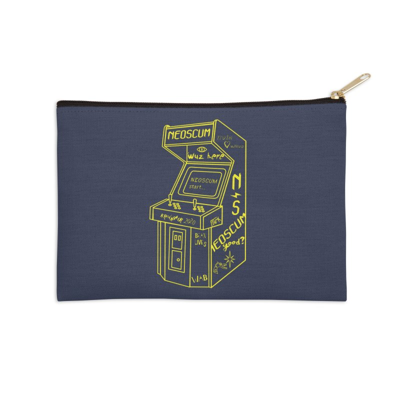 Insert Nuyen Accessories Zip Pouch by NeoScum Shop