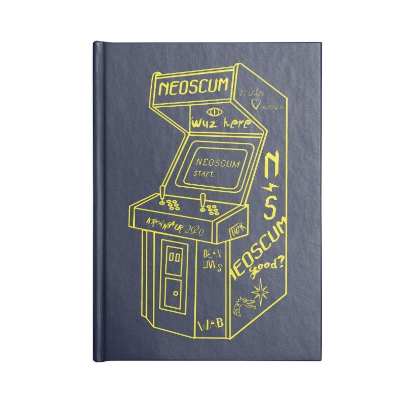 Insert Nuyen Accessories Notebook by NeoScum Shop