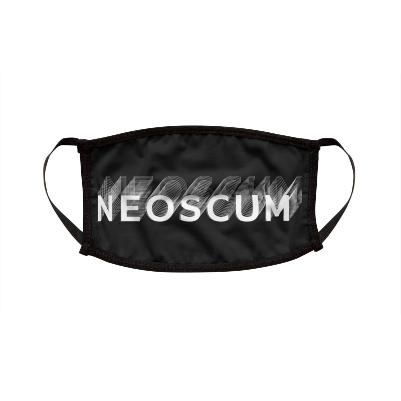 Scumverse Solid (White) Accessories Face Mask by NeoScum Shop