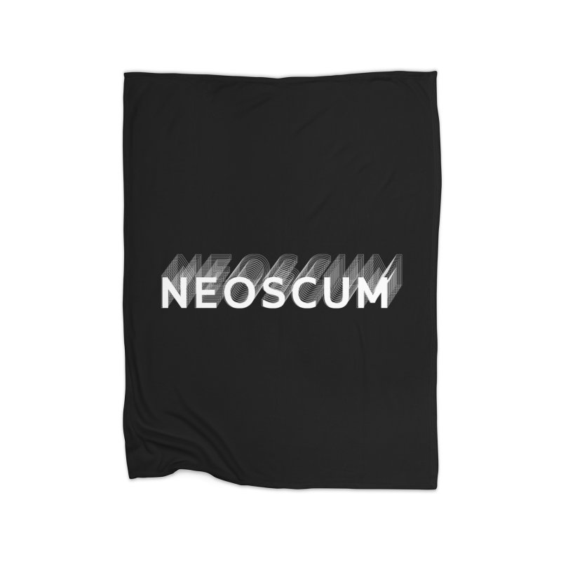 Scumverse Solid (White) Home Blanket by NeoScum Shop