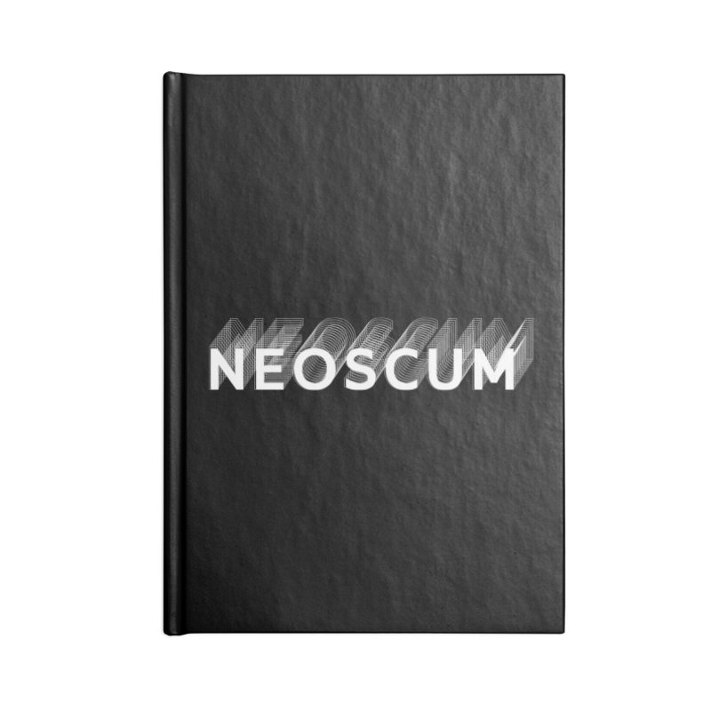Scumverse Solid (White) Accessories Notebook by NeoScum Shop