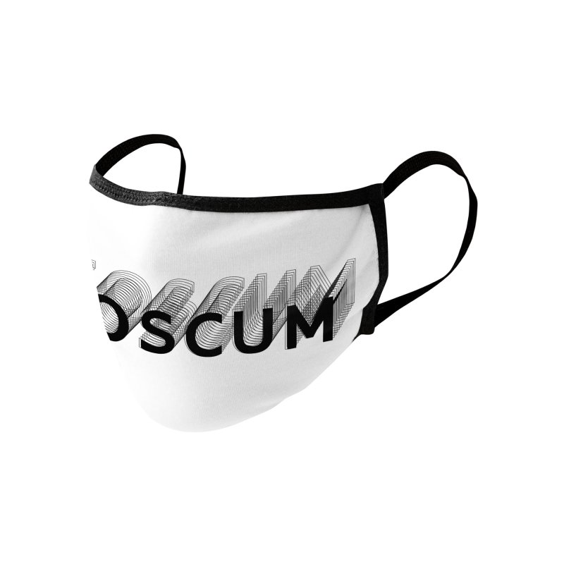Scumverse Solid (Black) Accessories Face Mask by NeoScum Shop