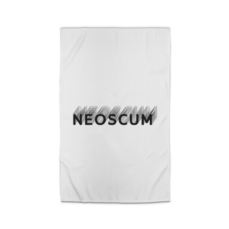 Scumverse Solid (Black) Home Rug by NeoScum Shop