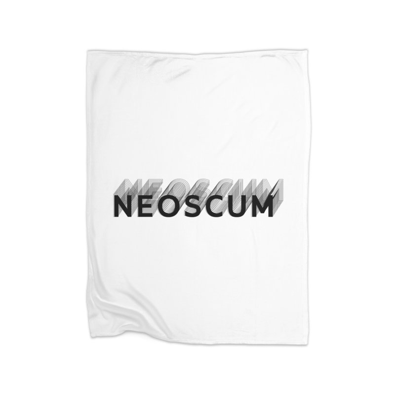 Scumverse Solid (Black) Home Blanket by NeoScum Shop