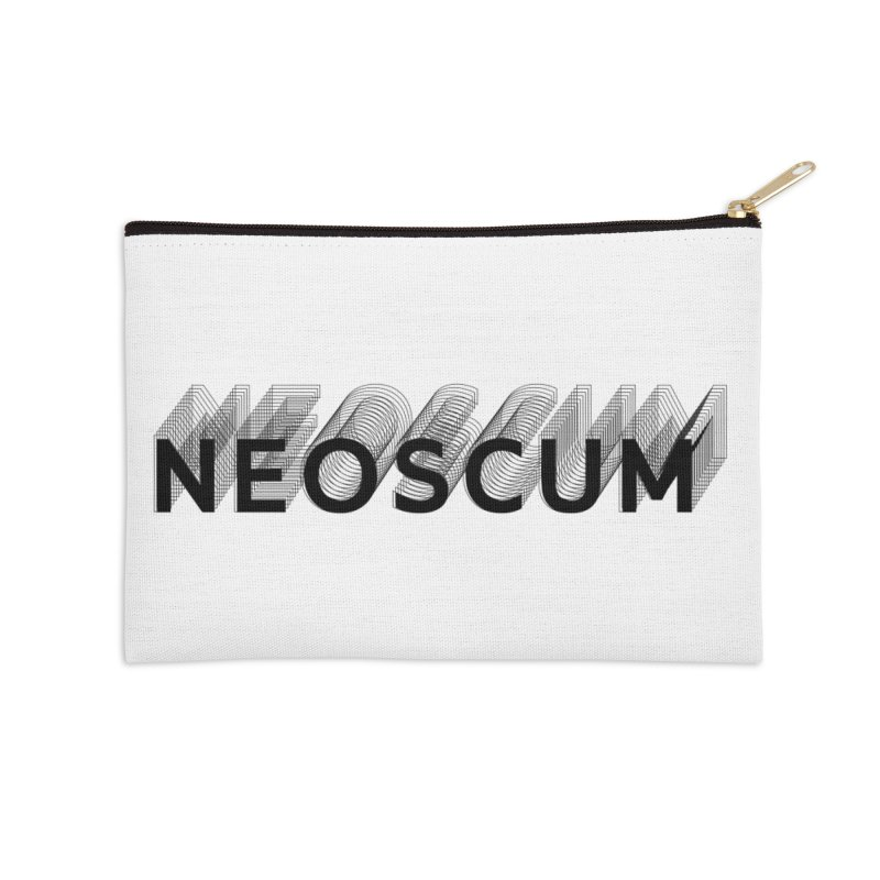 Scumverse Solid (Black) Accessories Zip Pouch by NeoScum Shop