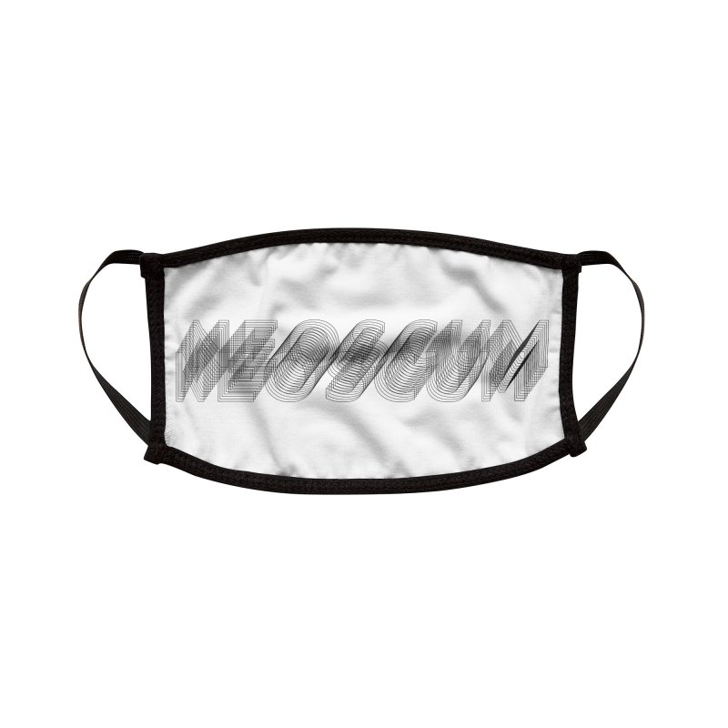Scumverse Wire (Black) Accessories Face Mask by NeoScum Shop