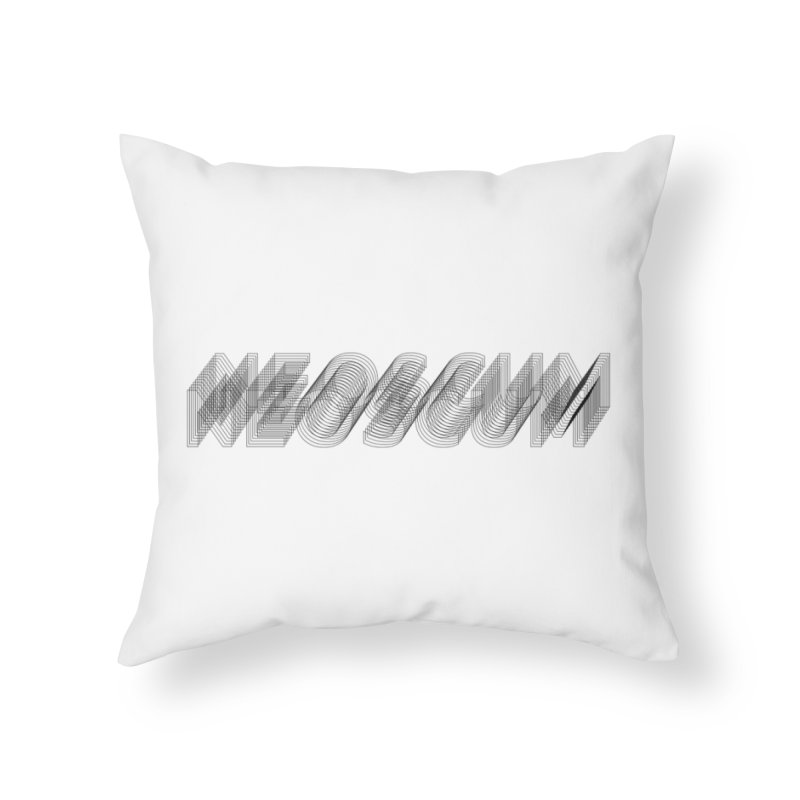 Scumverse Wire (Black) Home Throw Pillow by NeoScum Shop