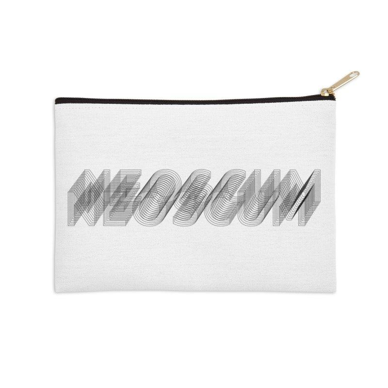 Scumverse Wire (Black) Accessories Zip Pouch by NeoScum Shop