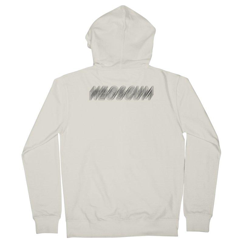 Scumverse Wire (Black) Men's Zip-Up Hoody by NeoScum Shop
