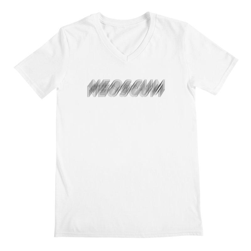 Scumverse Wire (Black) Men's V-Neck by NeoScum Shop