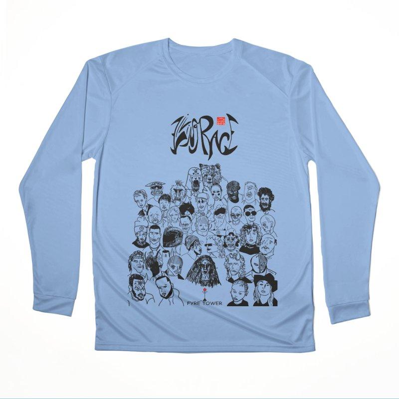 Living Race (Dark) Men's Longsleeve T-Shirt by NeoScum Shop