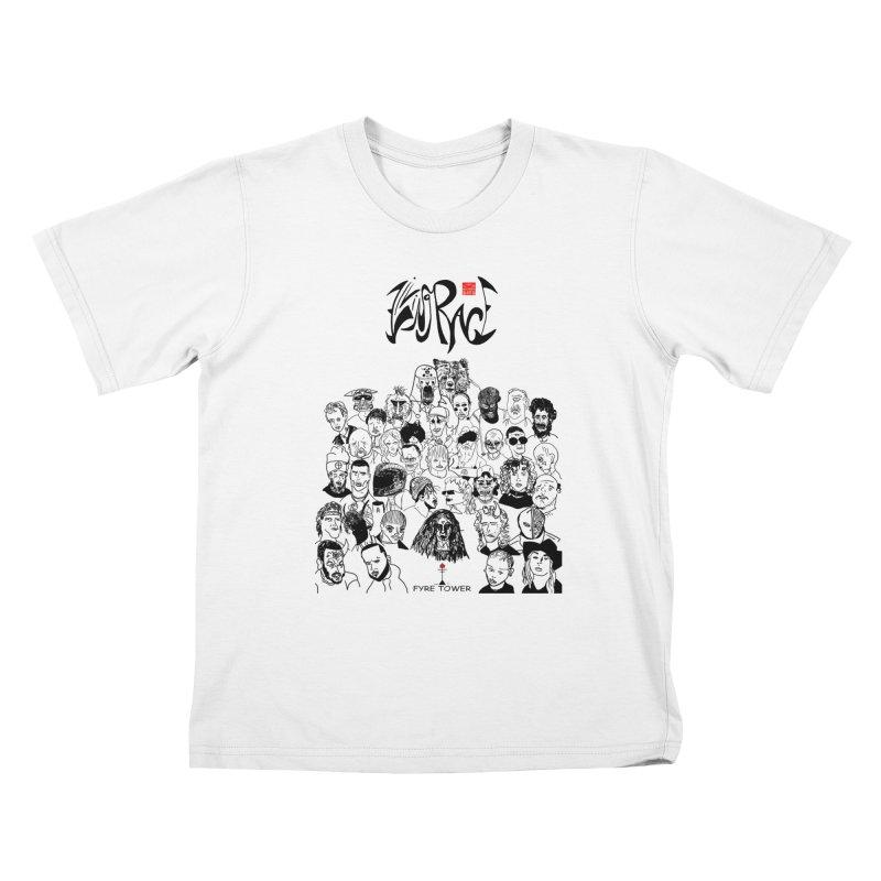 Living Race (Dark) Kids T-Shirt by NeoScum Shop