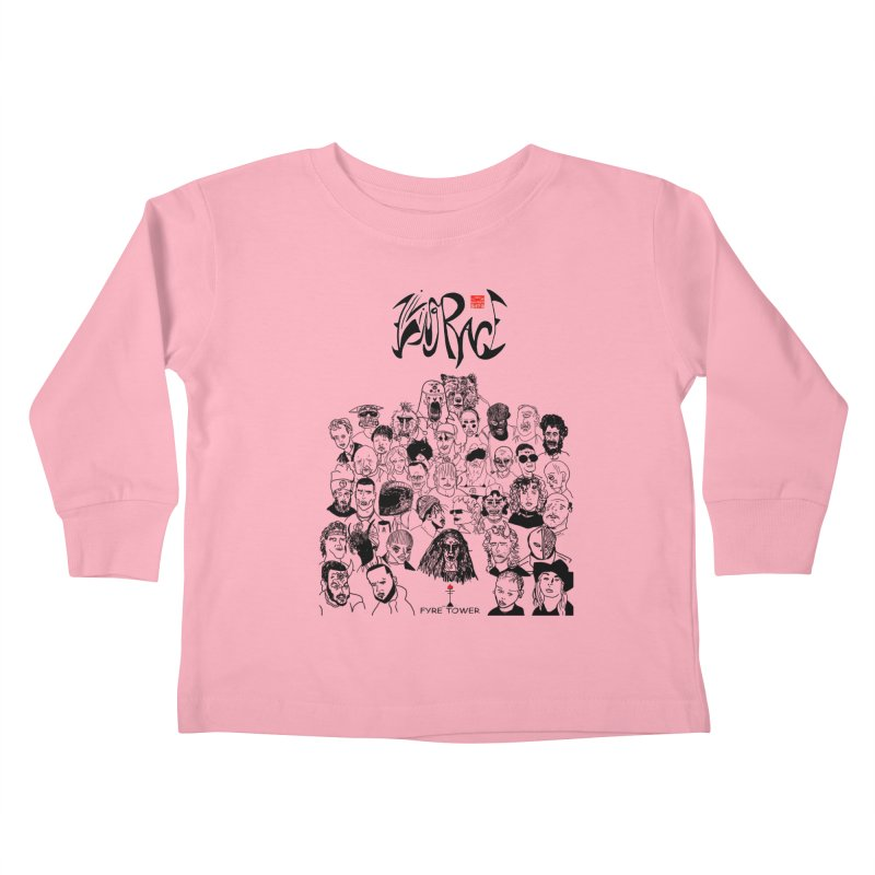 Living Race (Dark) Kids Toddler Longsleeve T-Shirt by NeoScum Shop