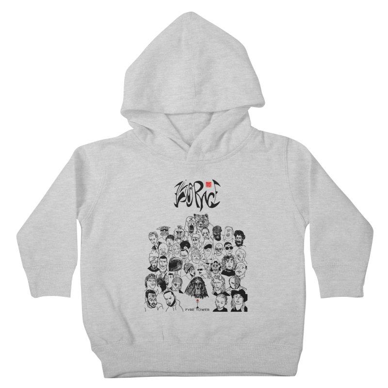 Living Race (Dark) Kids Toddler Pullover Hoody by NeoScum Shop