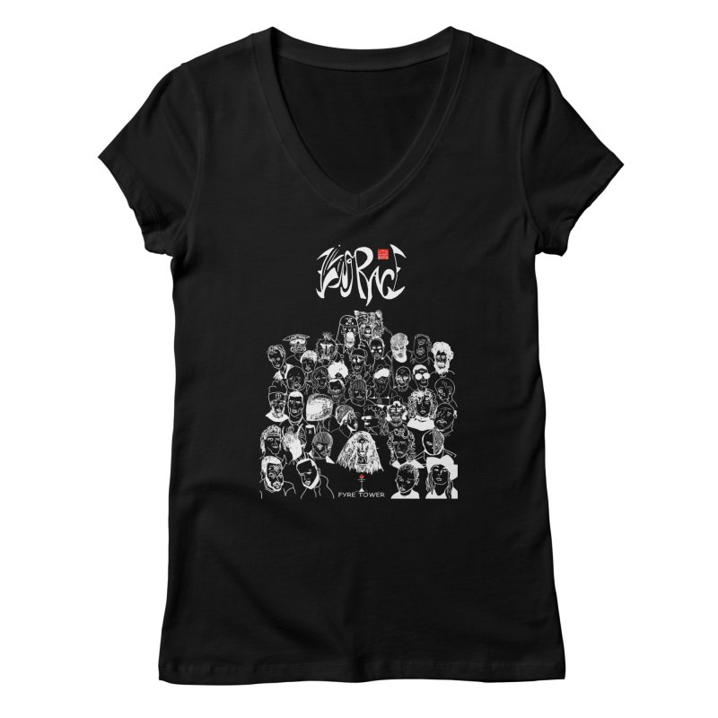 Living Race (Light) Women's V-Neck by NeoScum Shop