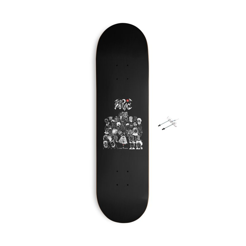 Living Race (Light) Accessories Skateboard by NeoScum Shop