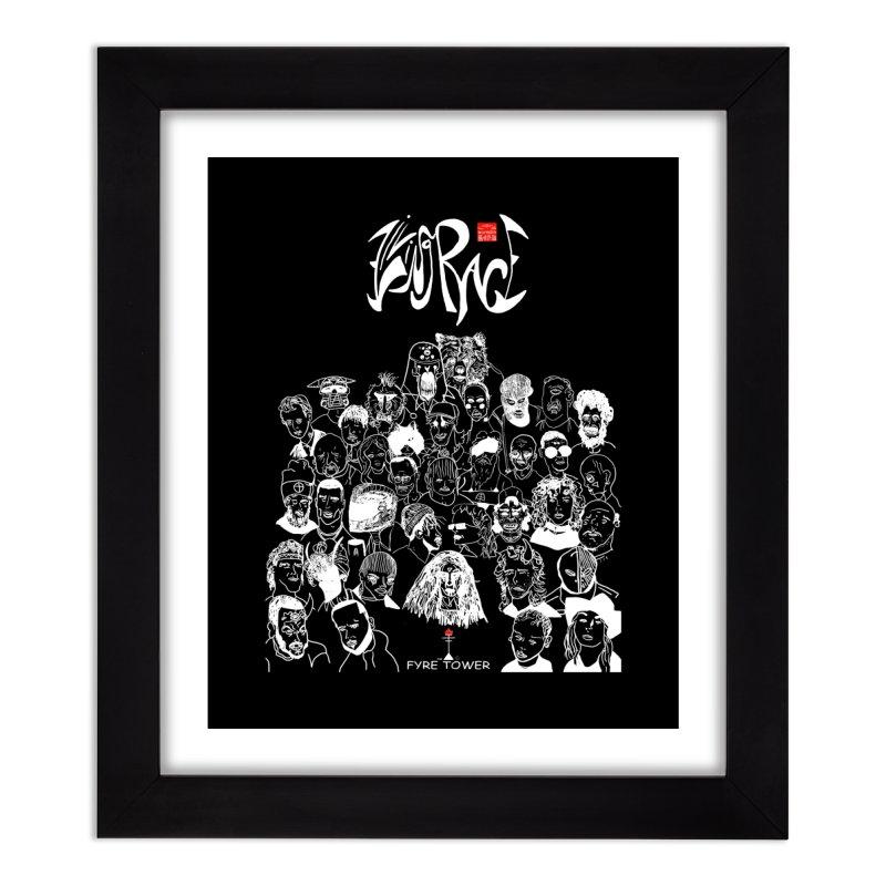 Living Race (Light) Home Framed Fine Art Print by NeoScum Shop