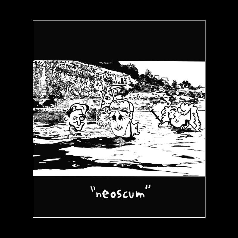 NeoScumLand Men's Sweatshirt by NeoScum Shop
