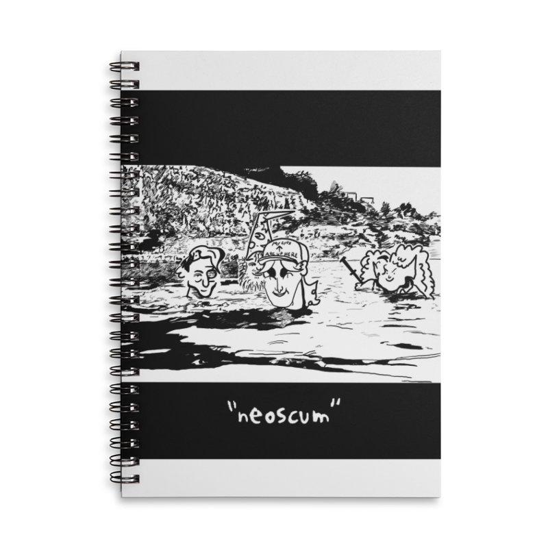NeoScumLand Accessories Notebook by NeoScum Shop