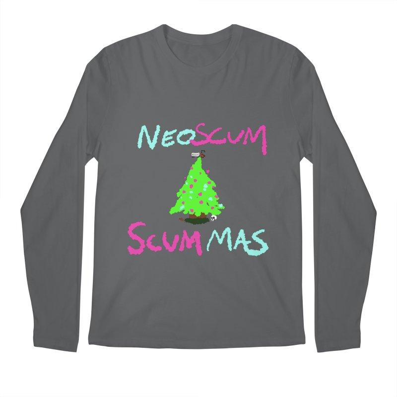 low effort holiday shirt Men's Longsleeve T-Shirt by NeoScum Shop
