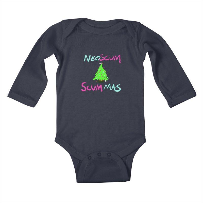 low effort holiday shirt Kids Baby Longsleeve Bodysuit by NeoScum Shop