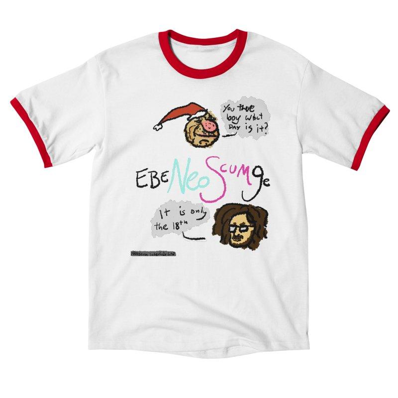 EbeNeoScumGe Men's T-Shirt by NeoScum Shop