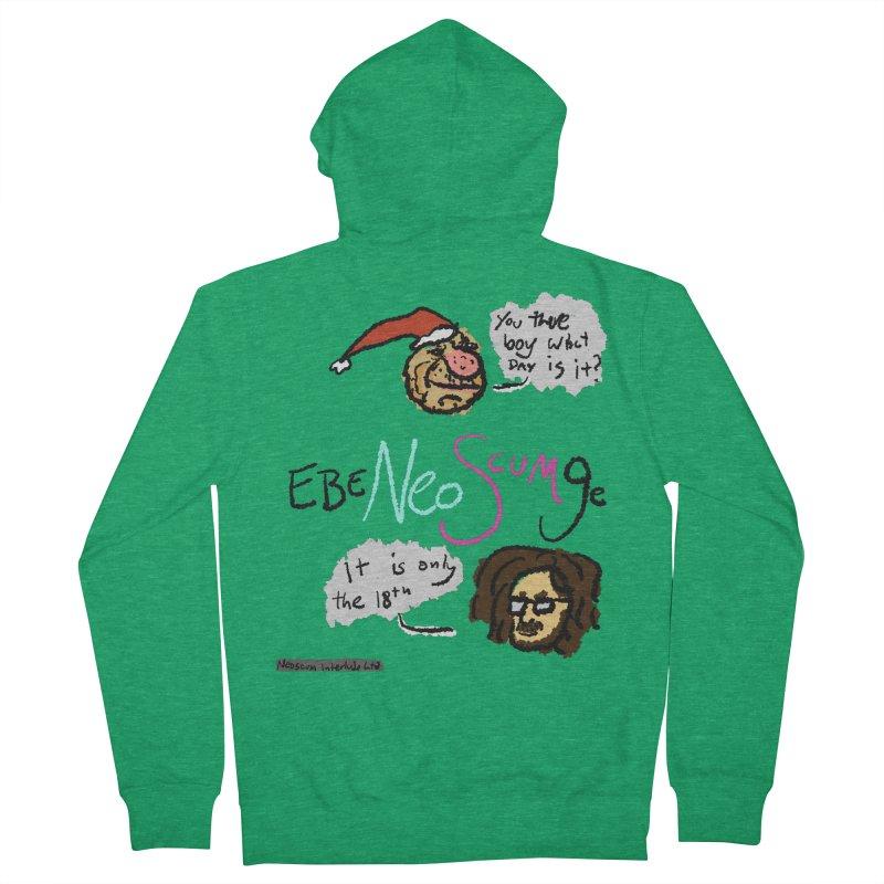 EbeNeoScumGe Men's Zip-Up Hoody by NeoScum Shop