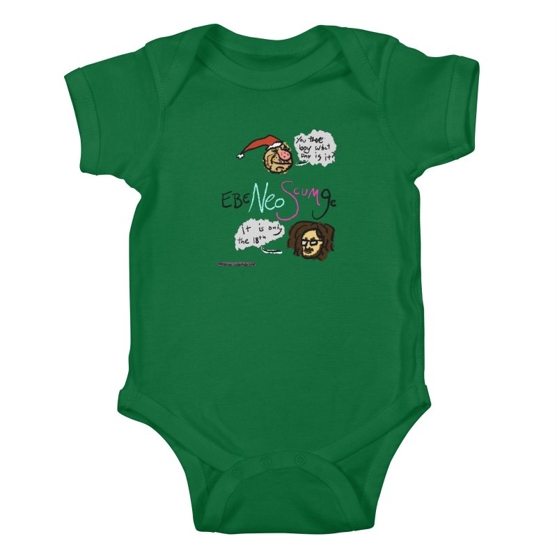 EbeNeoScumGe Kids Baby Bodysuit by NeoScum Shop