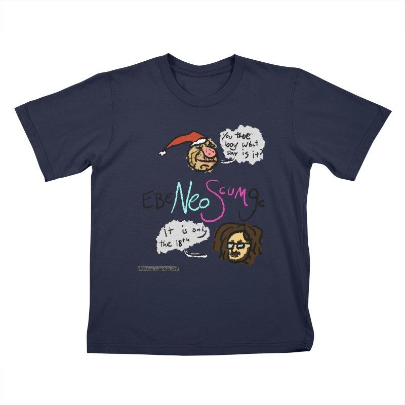 EbeNeoScumGe Kids T-Shirt by NeoScum Shop