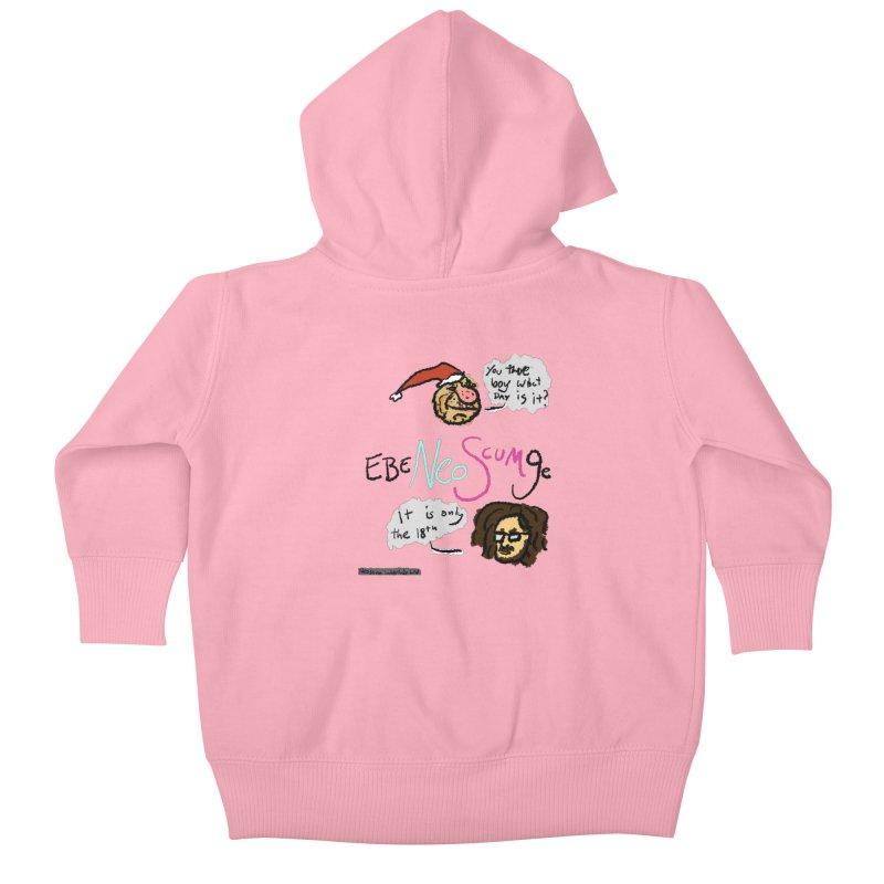 EbeNeoScumGe Kids Baby Zip-Up Hoody by NeoScum Shop