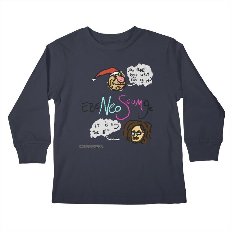 EbeNeoScumGe Kids Longsleeve T-Shirt by NeoScum Shop