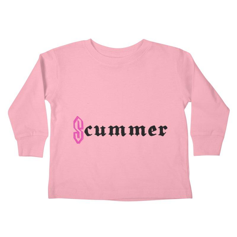 S cummer Kids Toddler Longsleeve T-Shirt by NeoScum Shop