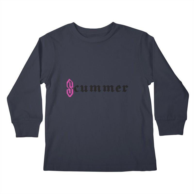 S cummer Kids Longsleeve T-Shirt by NeoScum Shop