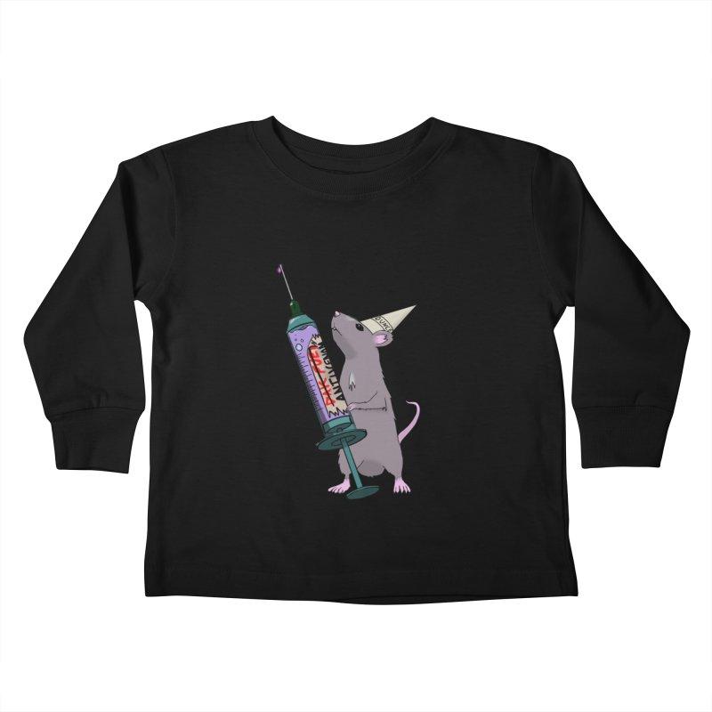 Tufton Antivenom Kids Toddler Longsleeve T-Shirt by NeoScum Shop