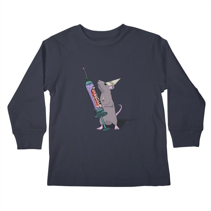 Tufton Antivenom Kids Longsleeve T-Shirt by NeoScum Shop
