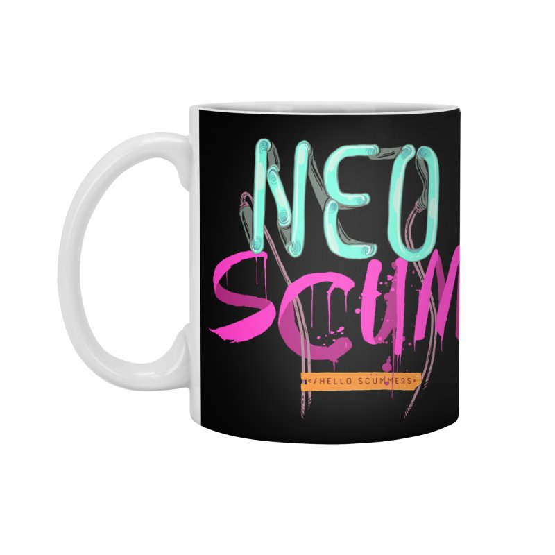 NeoScum Logo Accessories Mug by NeoScum Shop