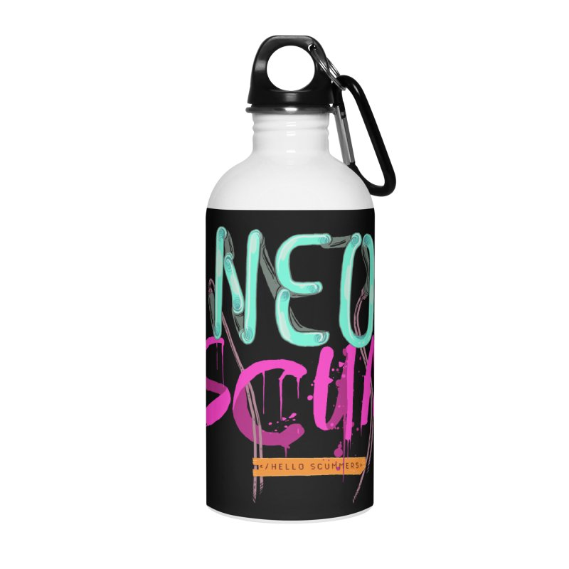 NeoScum Logo Accessories Water Bottle by NeoScum Shop