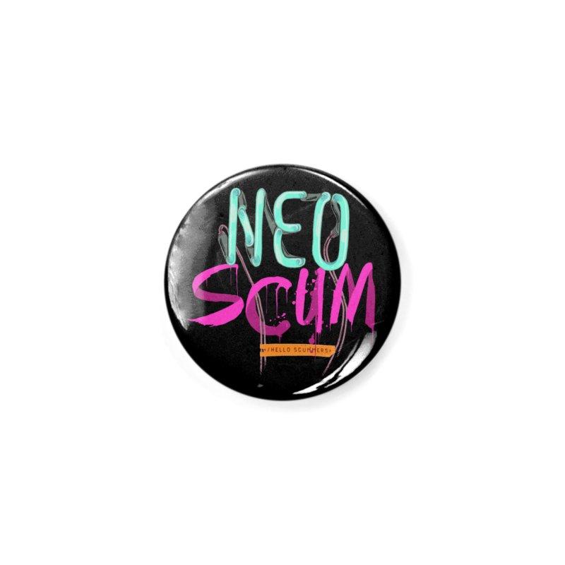NeoScum Logo Accessories Button by NeoScum Shop