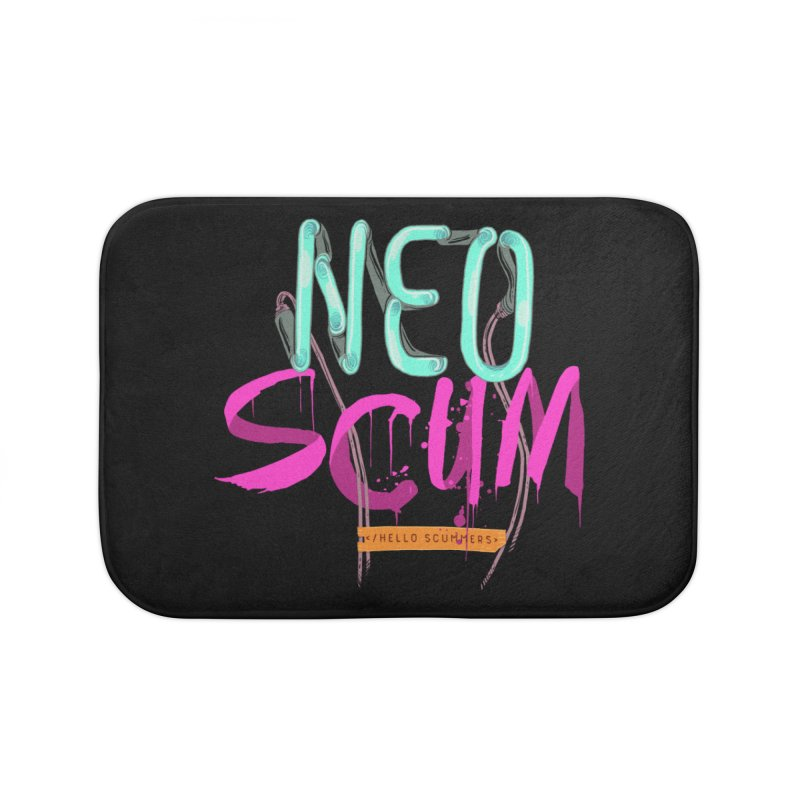 NeoScum Logo Home Bath Mat by NeoScum Shop