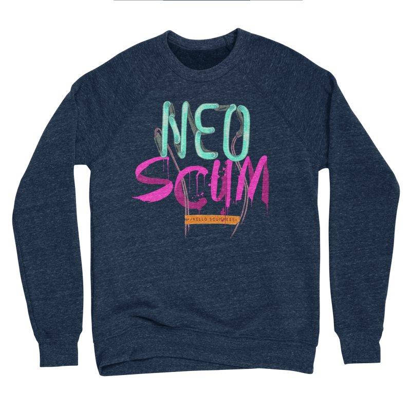 NeoScum Logo Men's Sponge Fleece Sweatshirt by NeoScum Shop