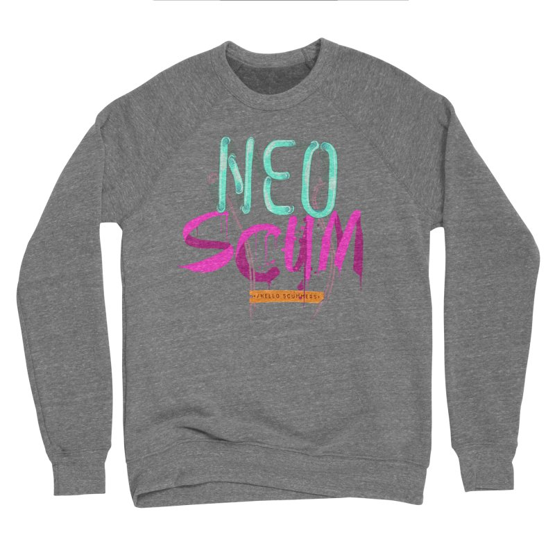 NeoScum Logo Women's Sponge Fleece Sweatshirt by NeoScum Shop