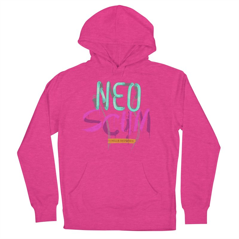 NeoScum Logo Women's French Terry Pullover Hoody by NeoScum Shop