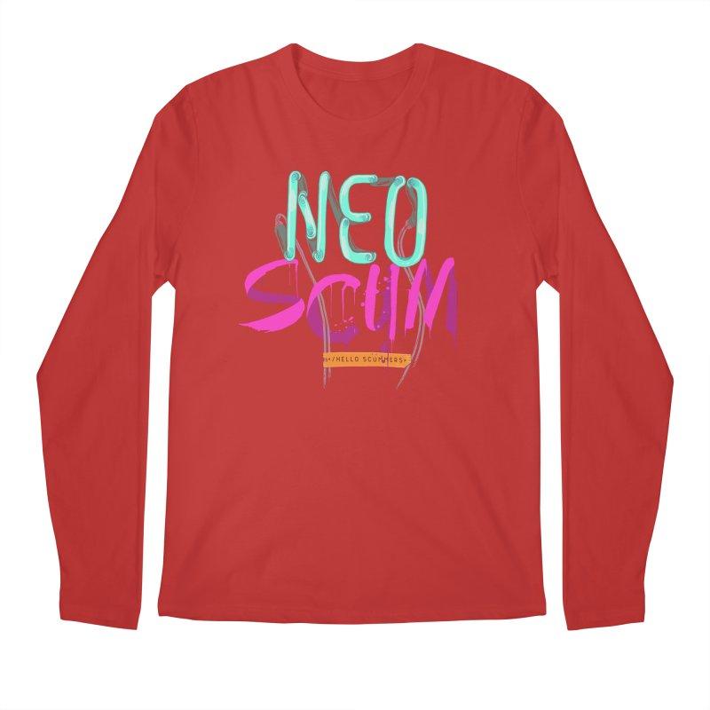 NeoScum Logo Men's Regular Longsleeve T-Shirt by NeoScum Shop
