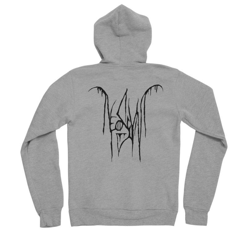 NeoScum Metal (Ash) Women's Sponge Fleece Zip-Up Hoody by NeoScum Shop