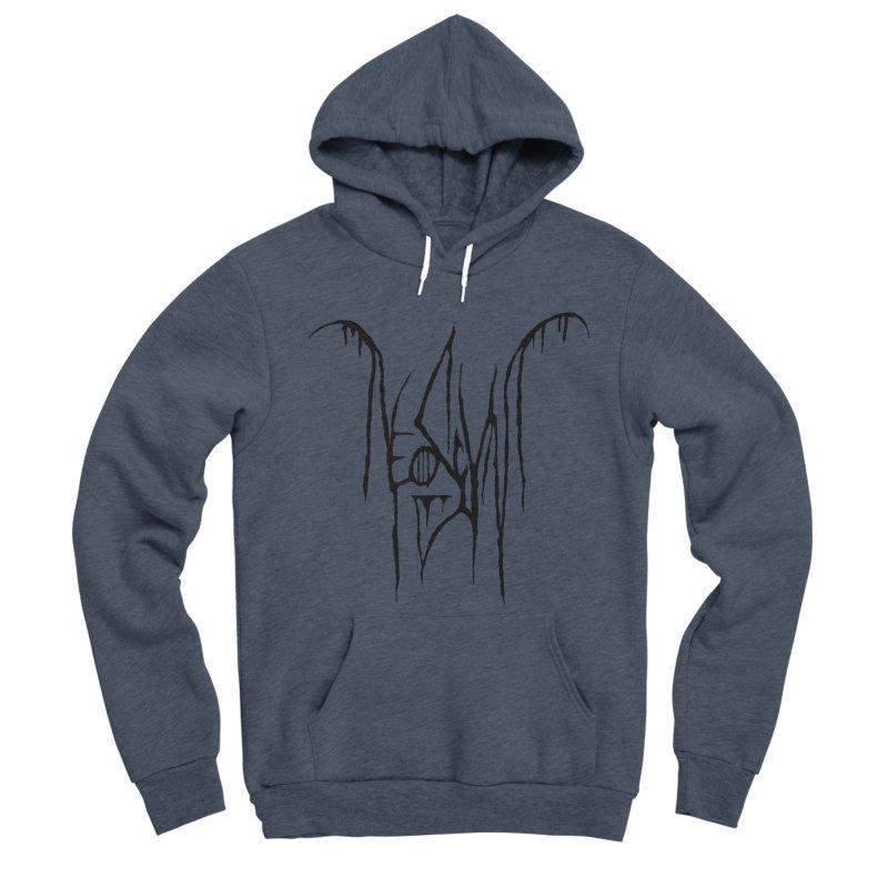 NeoScum Metal (Ash) Men's Sponge Fleece Pullover Hoody by NeoScum Shop
