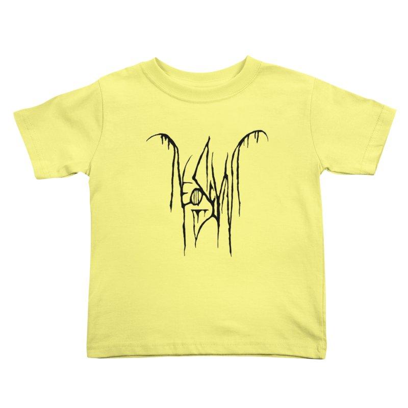 NeoScum Metal (Ash) Kids Toddler T-Shirt by NeoScum Shop