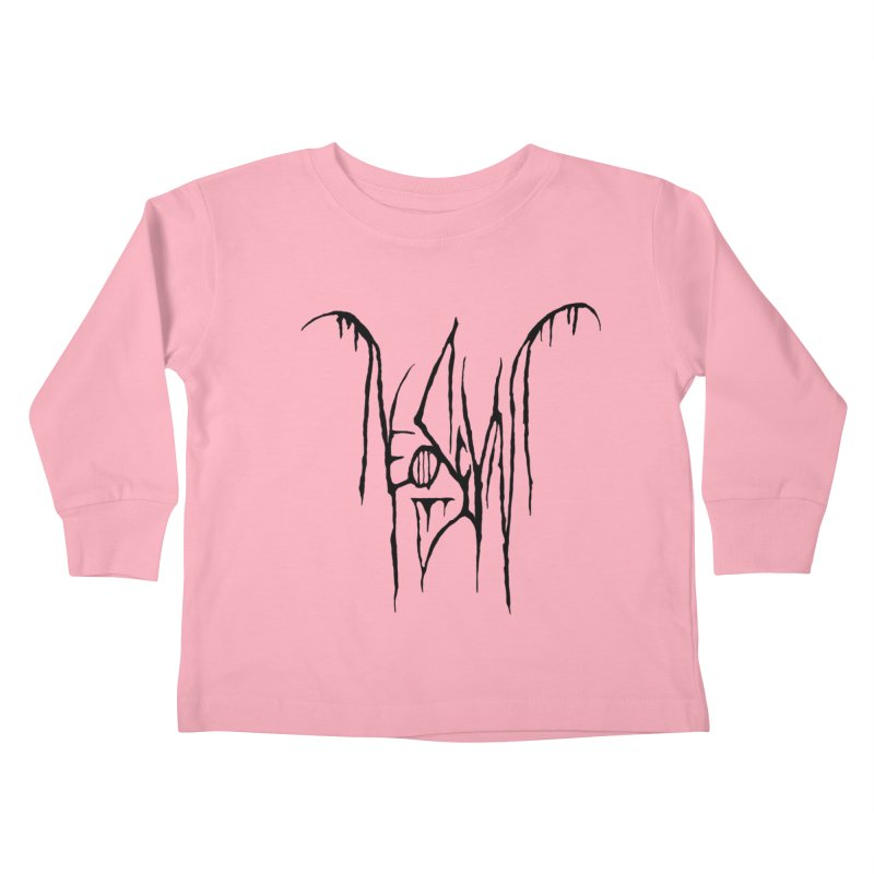 NeoScum Metal (Ash) Kids Toddler Longsleeve T-Shirt by NeoScum Shop