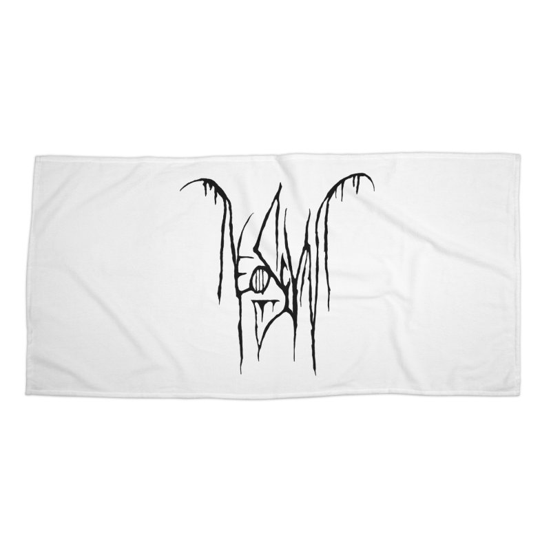 NeoScum Metal (Ash) Accessories Beach Towel by NeoScum Shop