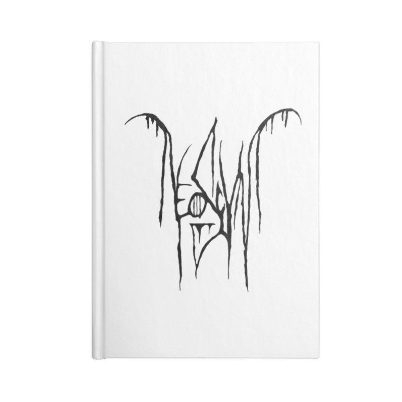 NeoScum Metal (Ash) Accessories Lined Journal Notebook by NeoScum Shop